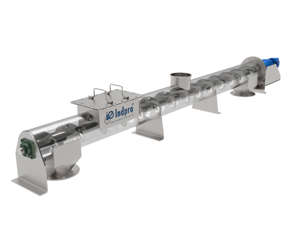 Indpro Engineering, Pune - Screw Conveyors - Tubular