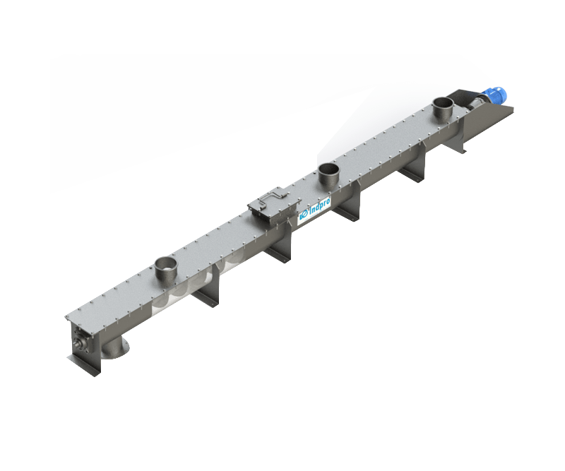 Indpro Engineering, Pune - Screw Conveyors - U trough