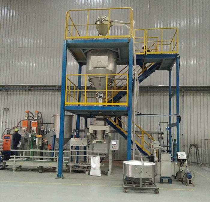 Indpro Dilute Phase Conveying System Vacuum
